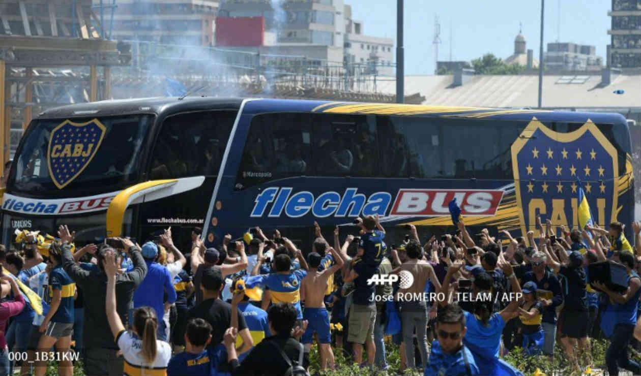 Boca Juniors - bus