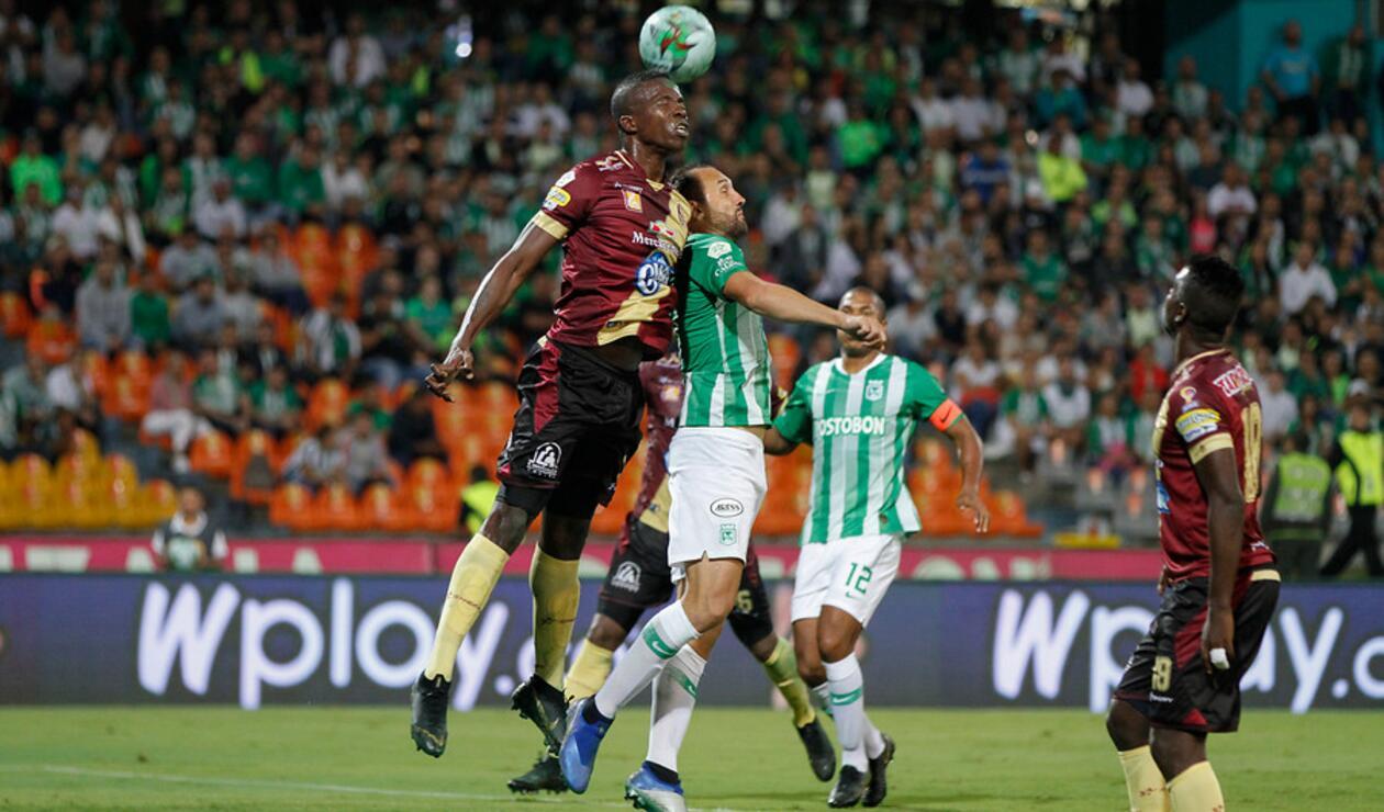 Nacional vs Tolima 2019