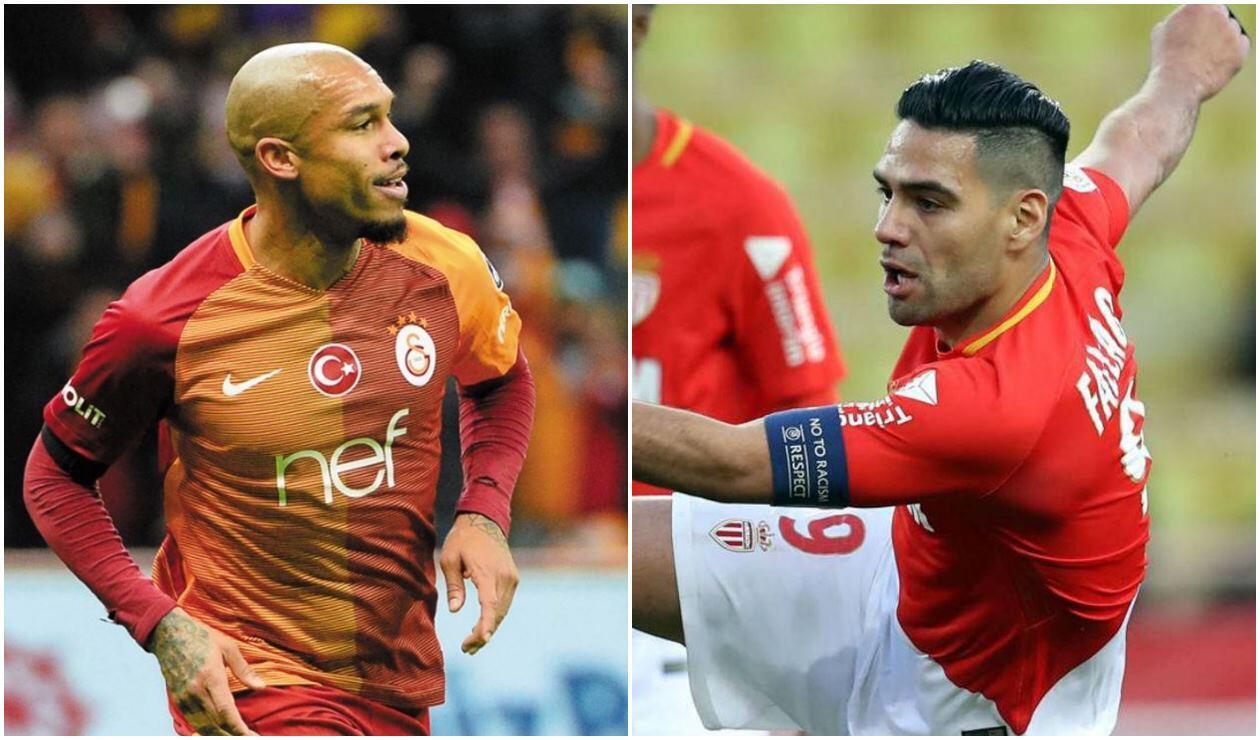 De Jong quiere que Falcao juegue en el Galatasaray