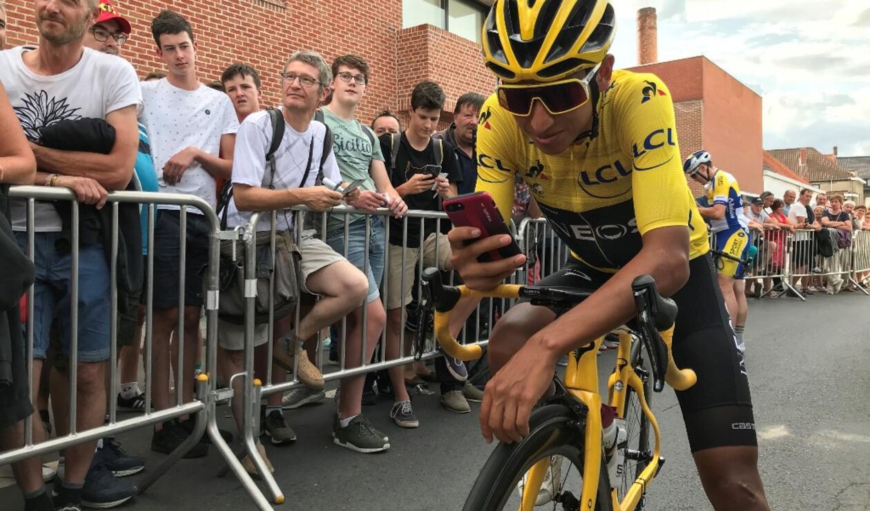 Egan Bernal, campeón del Tour de Francia 2019