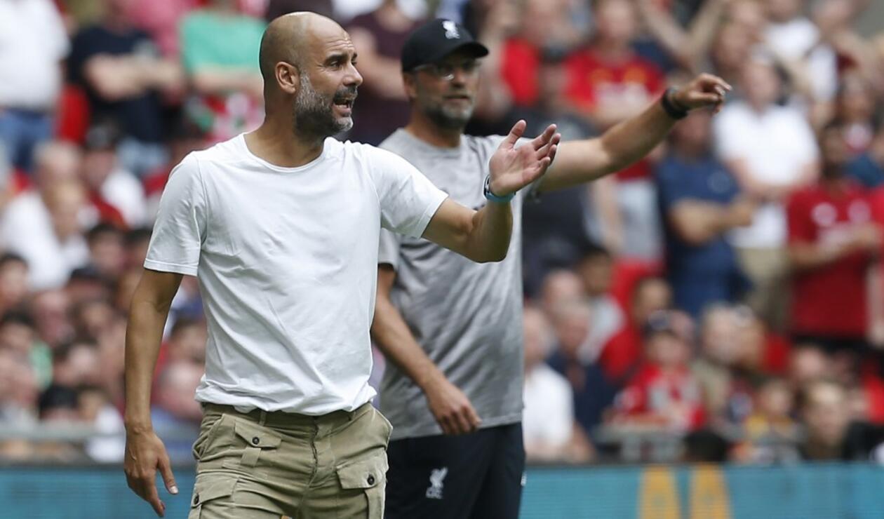 Pep Guardiola y Jurgen Klopp