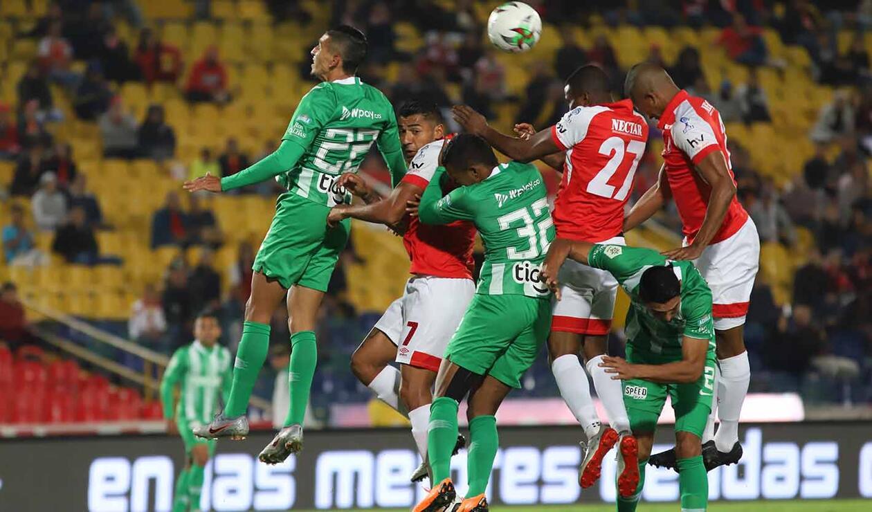 Santa Fe Vs. Nacional - Copa Águila