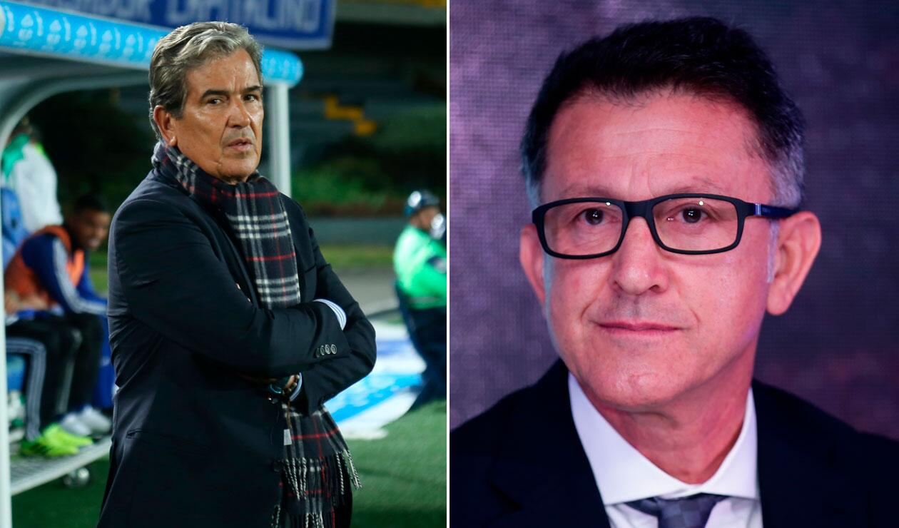 Jorge Luis Pinto, Juan Carlos Osorio