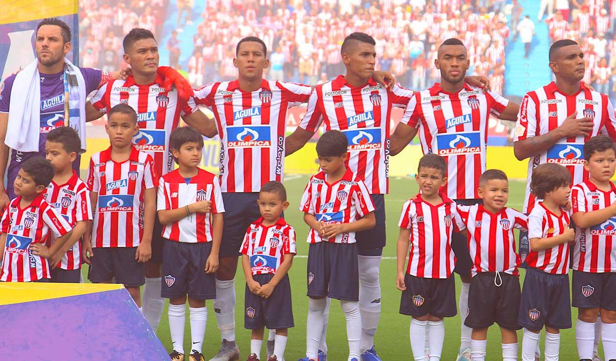 Junior de Barranquilla - equipo formado