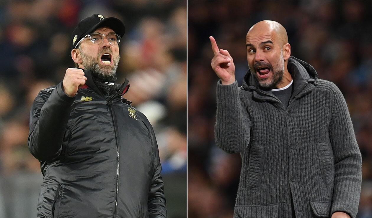 Premier League, Jürgen Klopp, Pep Guardiola