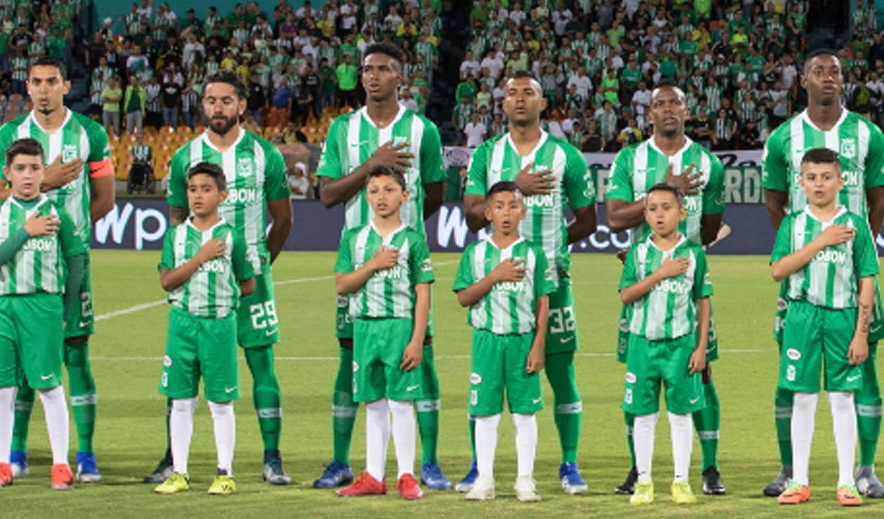 Atlético Nacional: equipo formado