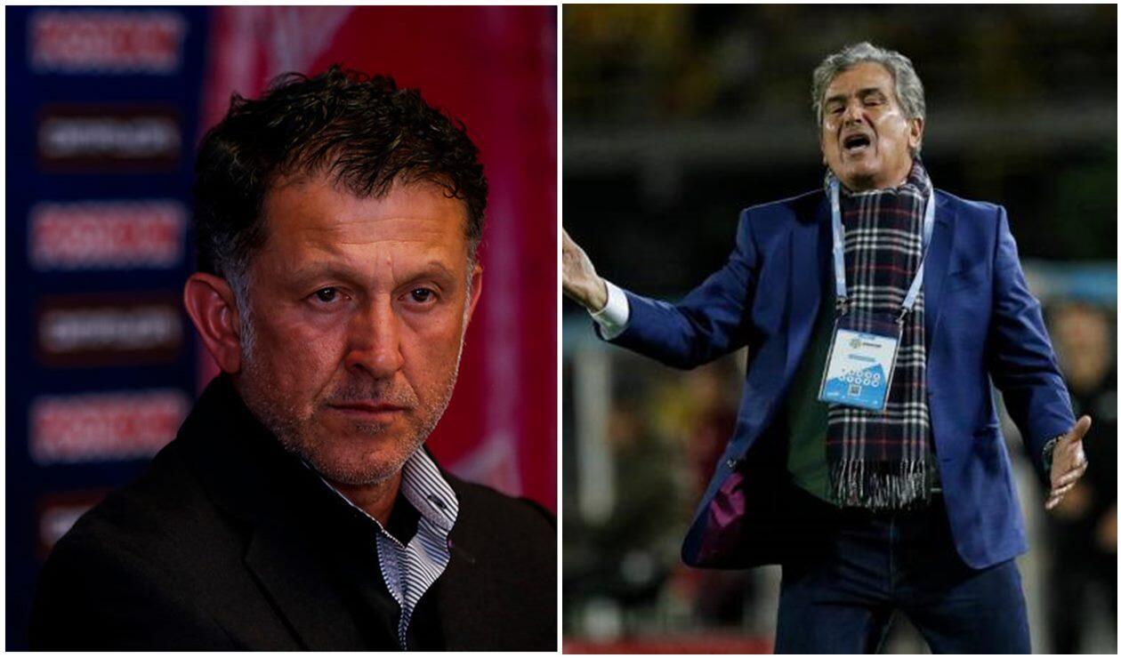 Juan Carlos Osorio y Jorge Luis Pinto