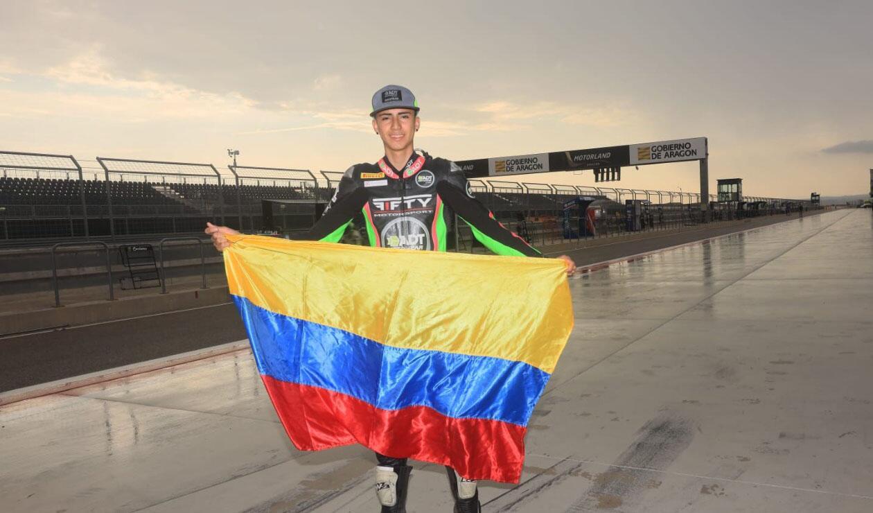 Pablo Echeverri, piloto colombiano