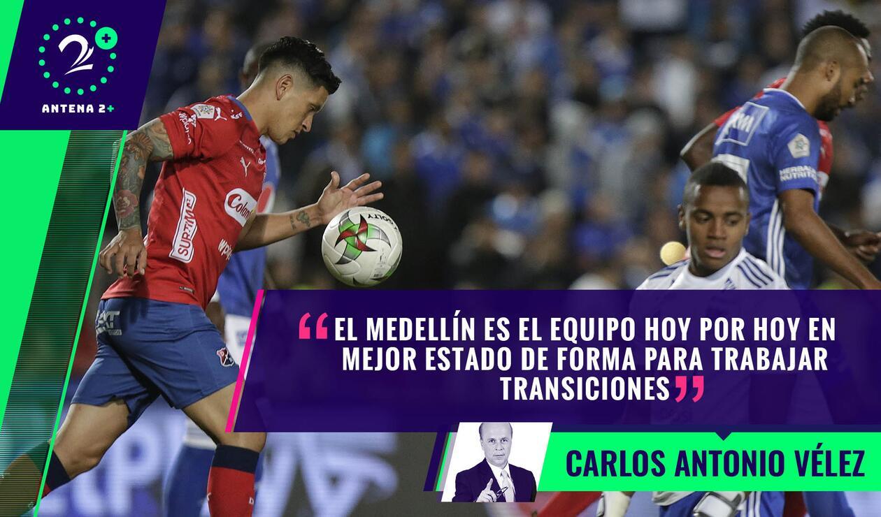 Palabras Mayores - Medellín vs Millonarios