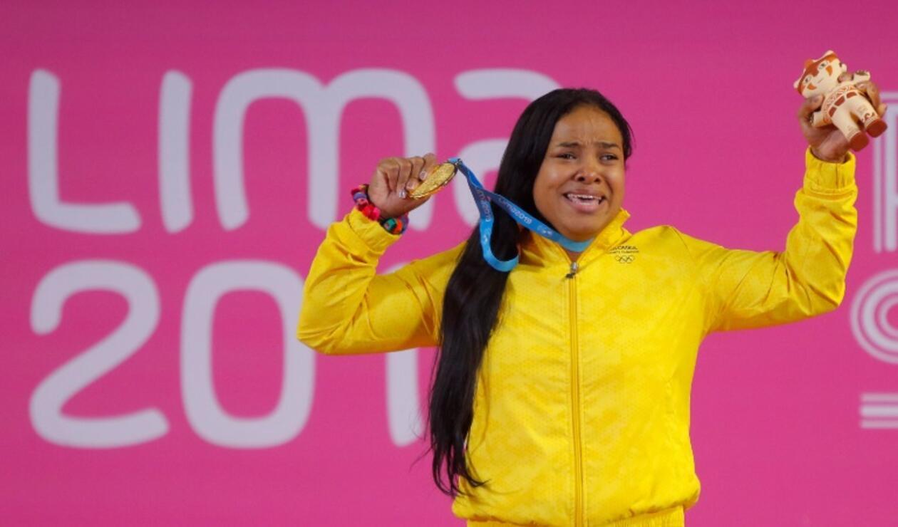 Medalla de oro Juegos Parapanamericanos