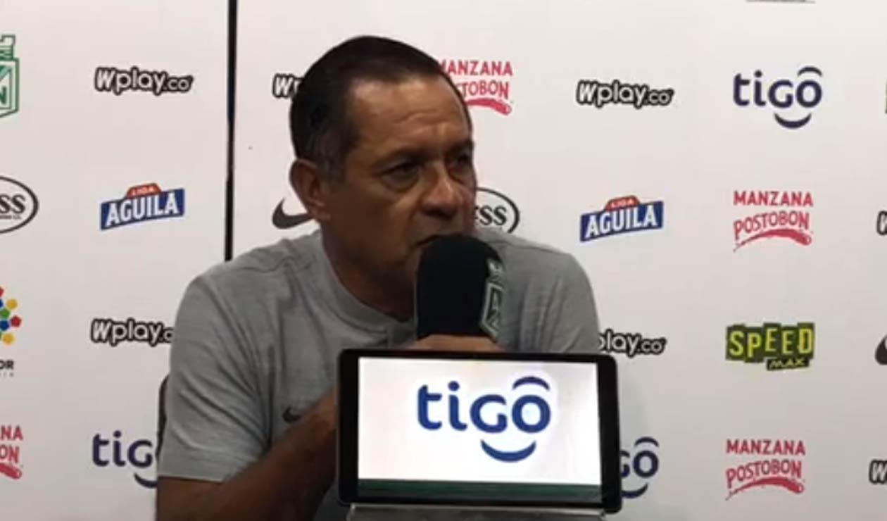 Pompilio Páez, asistente técnico de Osorio en Nacional