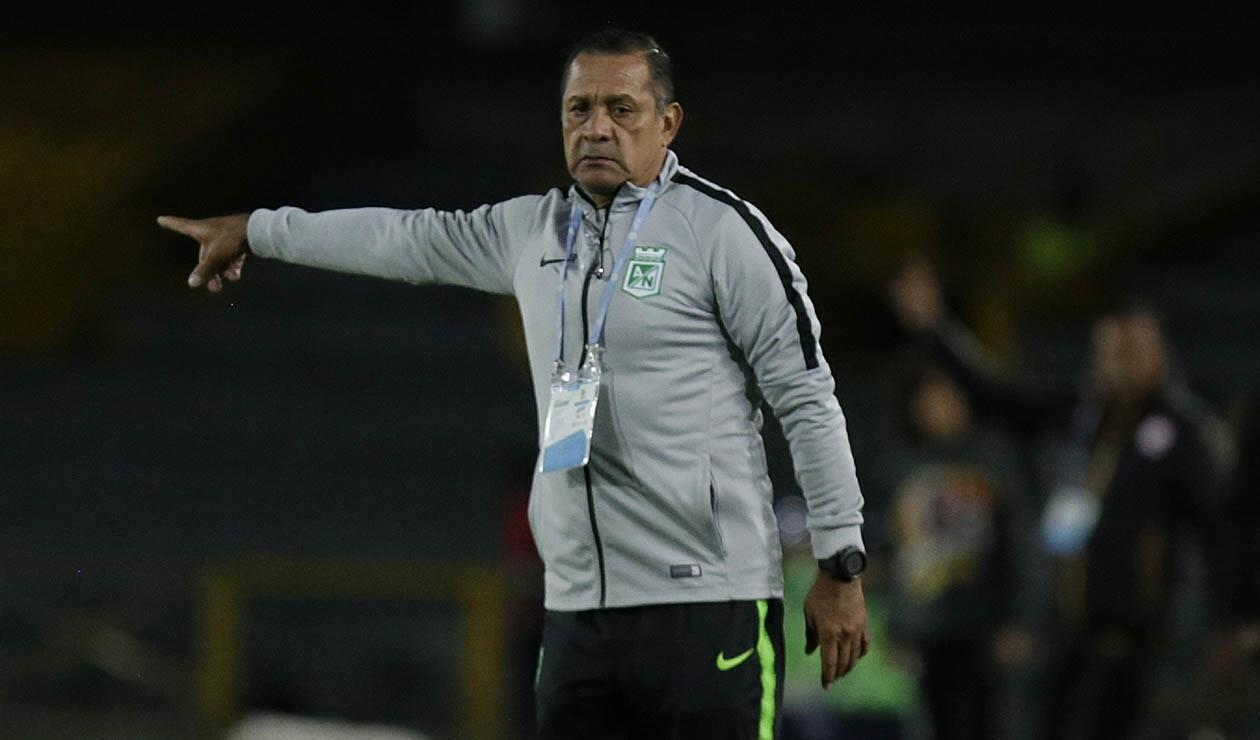 Pompilio Páez, asistente técnico de Atlético Nacional