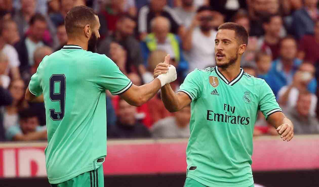Real Madrid derrotó al Salzburgo
