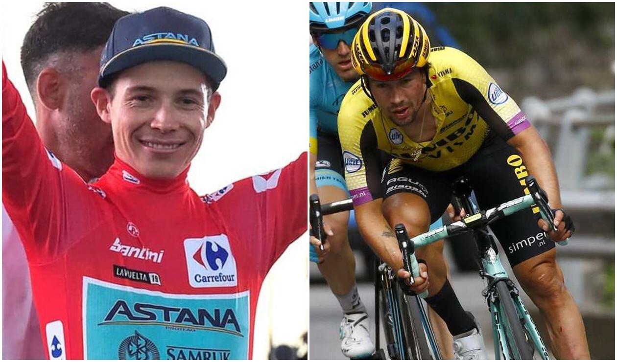 Miguel Ángel López y Primoz Roglic, duelo en la Vuelta a España