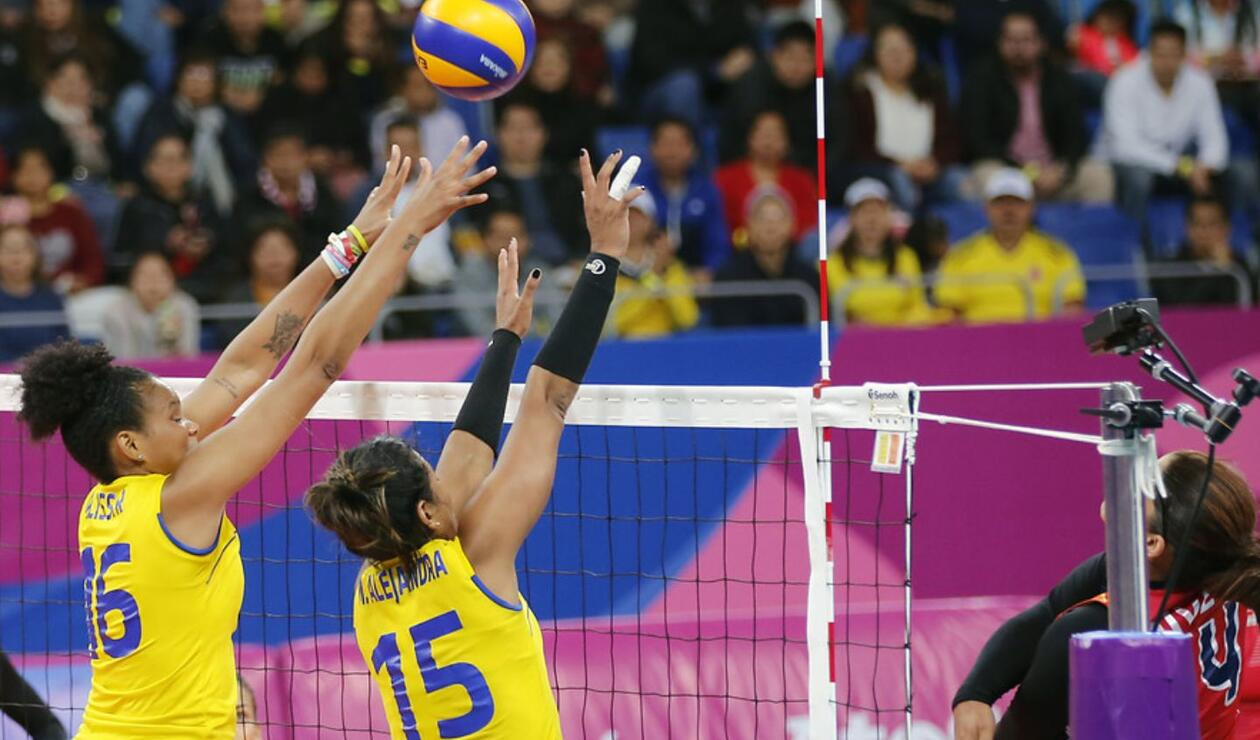 Las jugadoras de República Dominicana demostraron ser de las mejores del mundo en voleibol femenino.