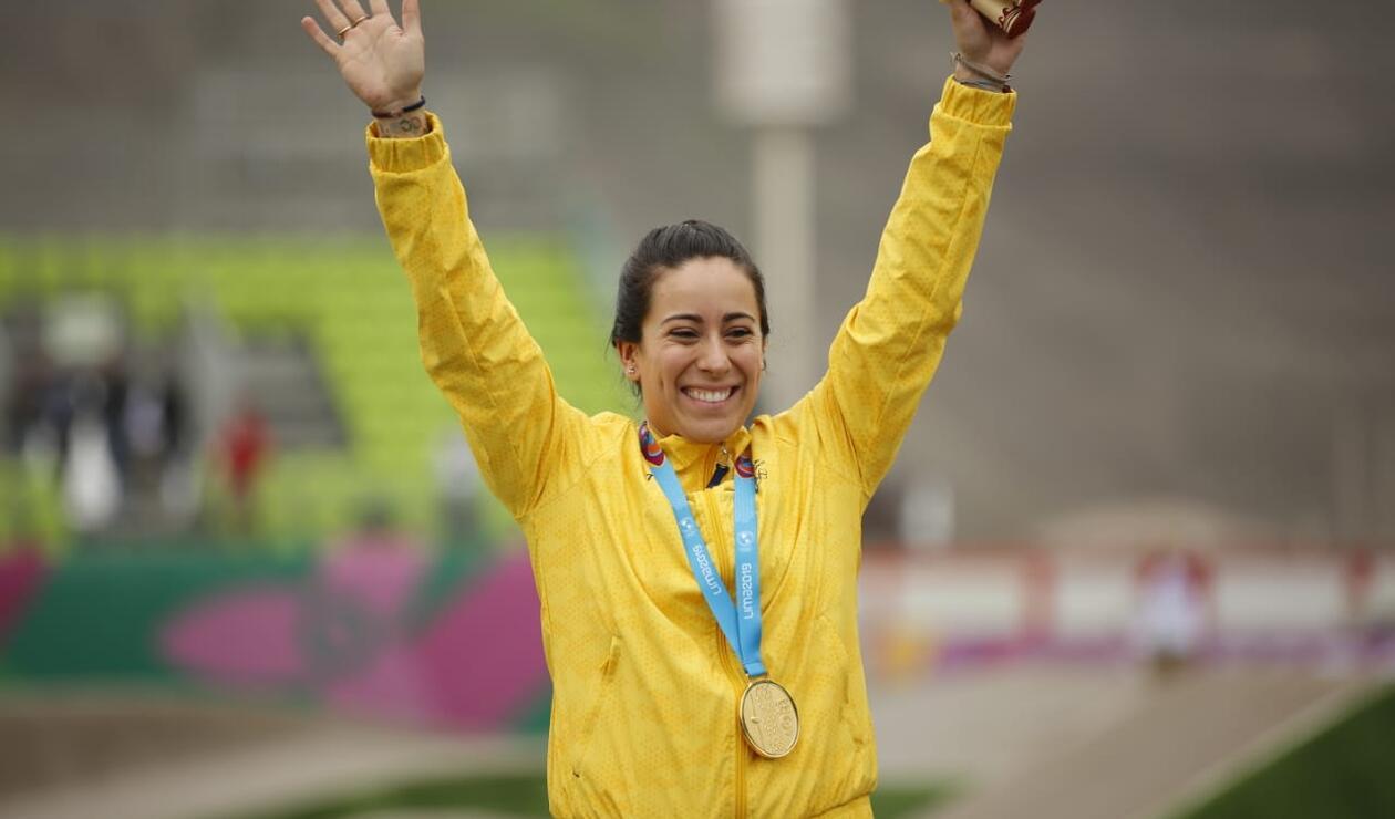 Mariana Pajón, oro en los Juegos Panamericanos de Lima