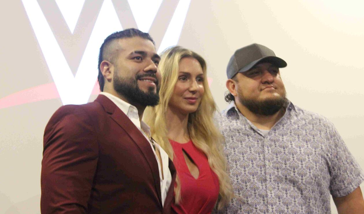 Súper estrellas de WWE en Bogotá