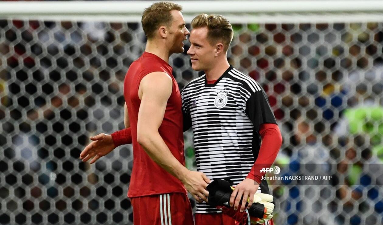 Ter Stegen y Neuer - Selección Alemania