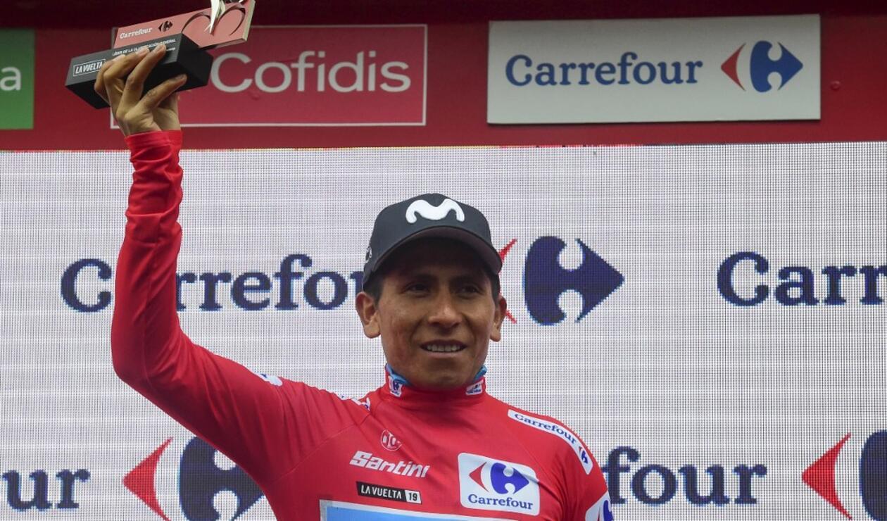 Nairo Quintana, líder de la Vuelta a España