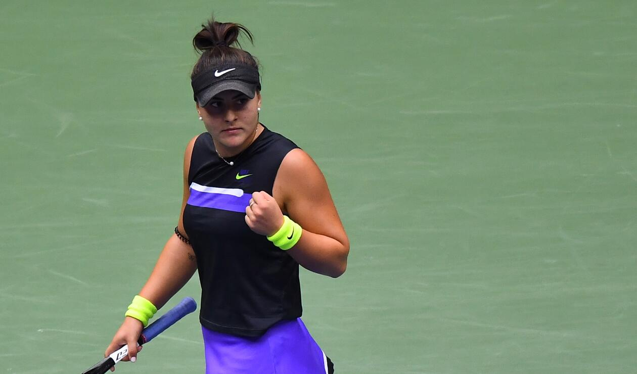 Bianca Andreescu, campeona del US Open