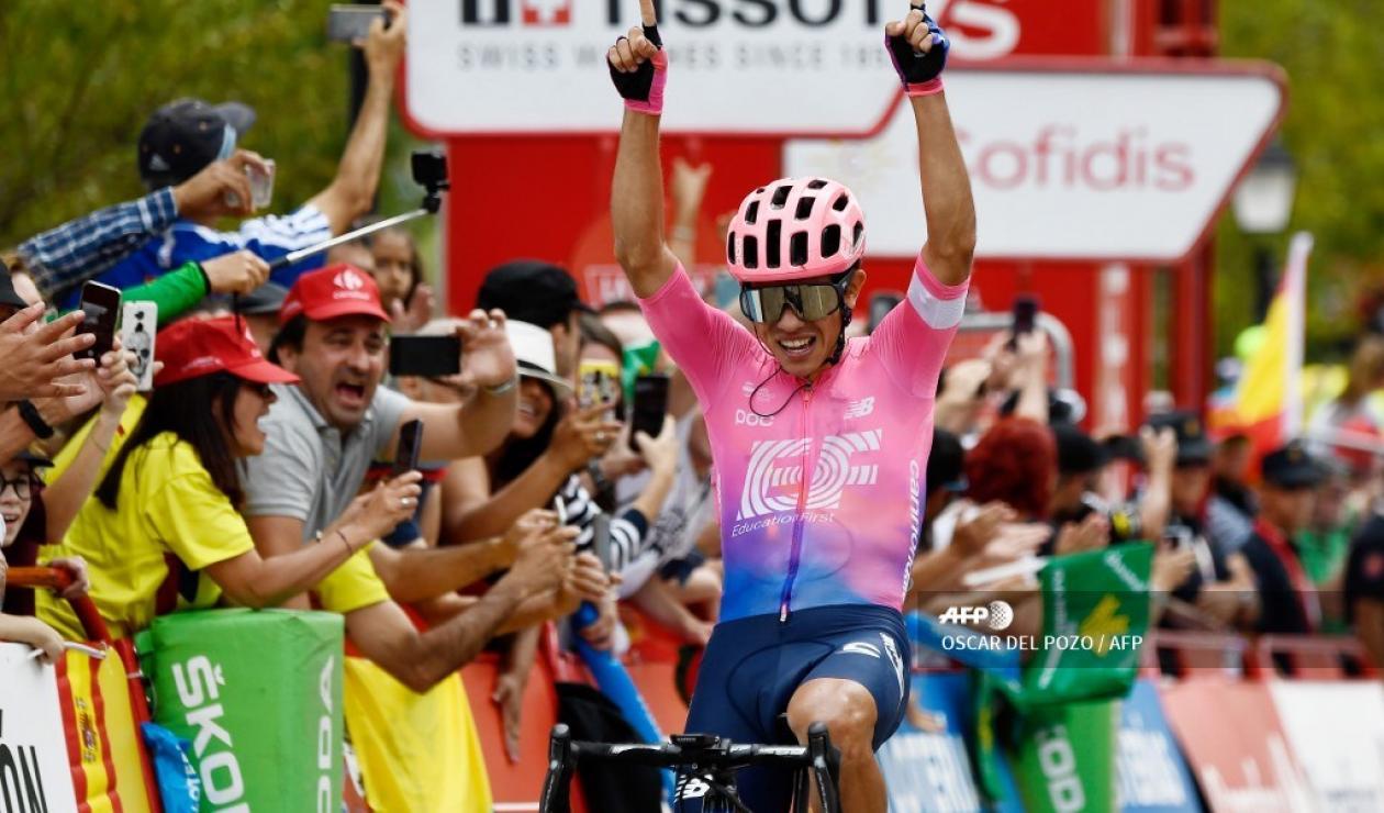 Sergio Higuita - Vuelta a España, etapa 18