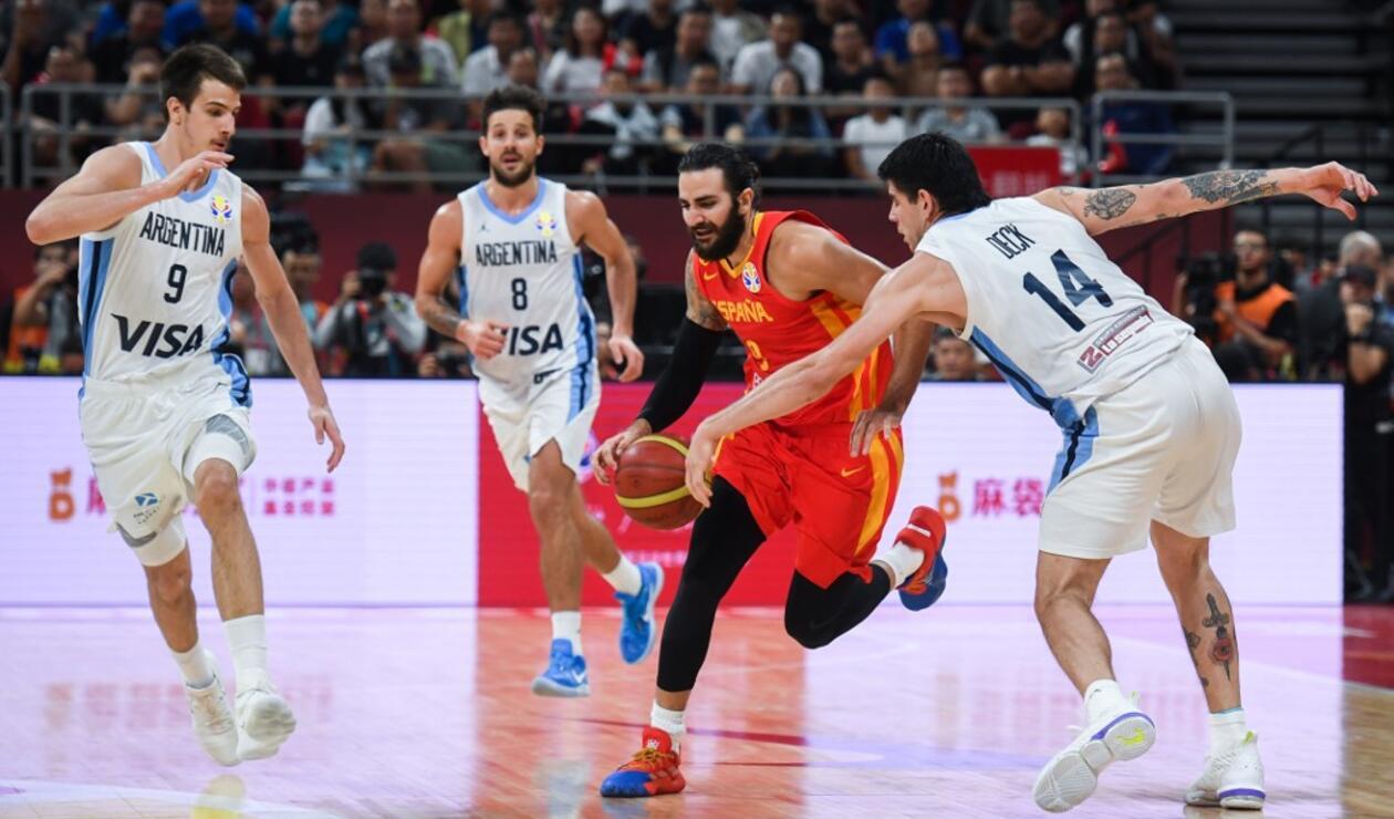 España vs Argentina, Mundial de Baloncesto