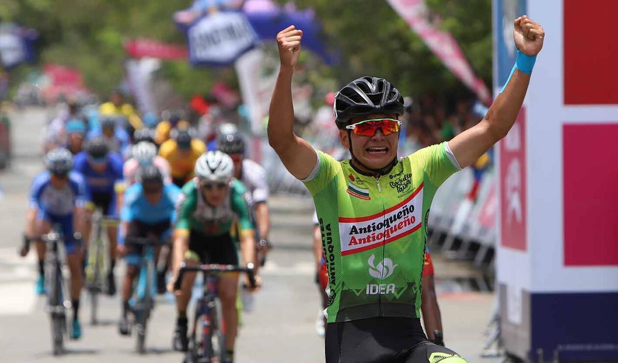 Juan Pablo Restrepo (Aguardiente Antioqueño) ganó la etapa 9 del Clásico RCN