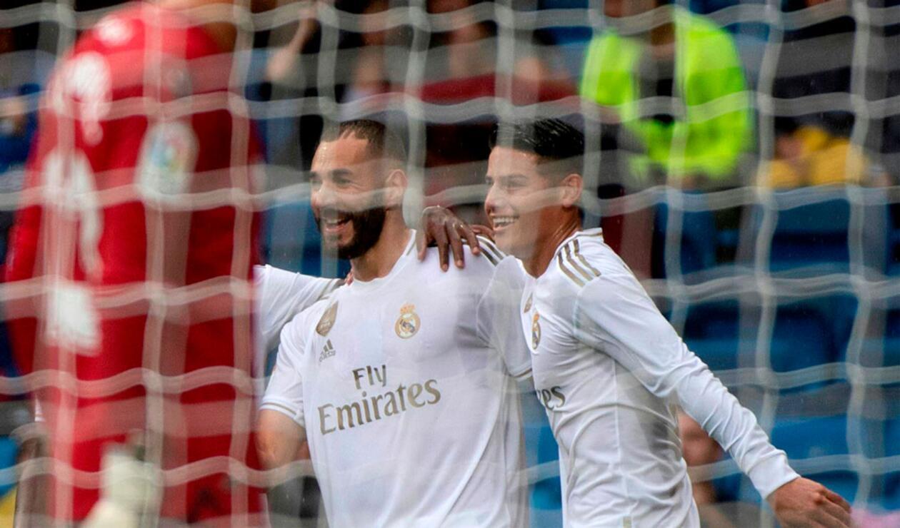 Real Madrid, James Rodríguez, Liga española