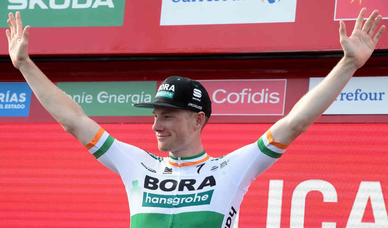 Sam Bennett ganó la etapa 14 de la Vuelta a España