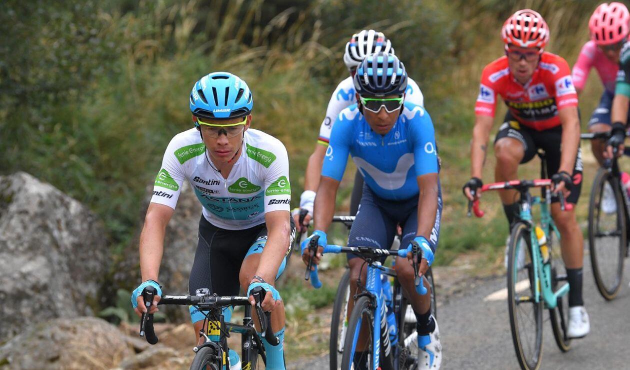 Nairo Quintana, Miguel Ángel López