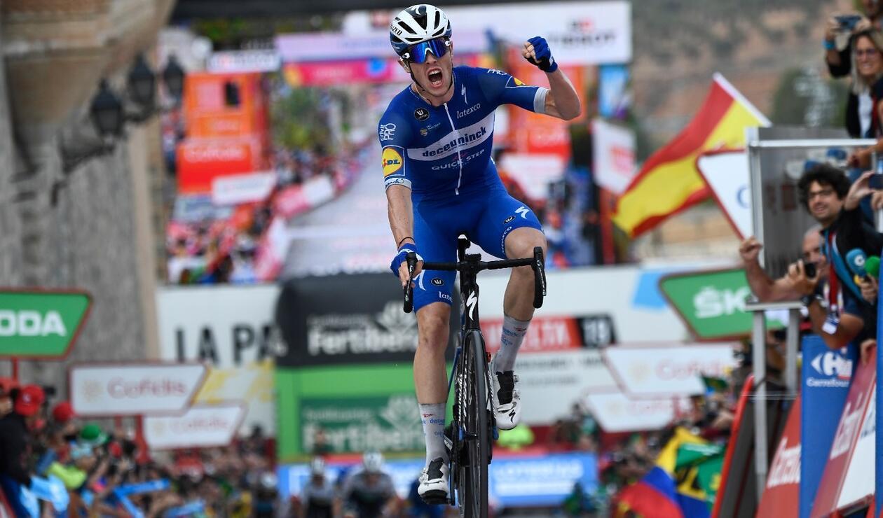 Rémi Cavagna(Quick Step) ganó la etapa 19 de la Vuelta a España
