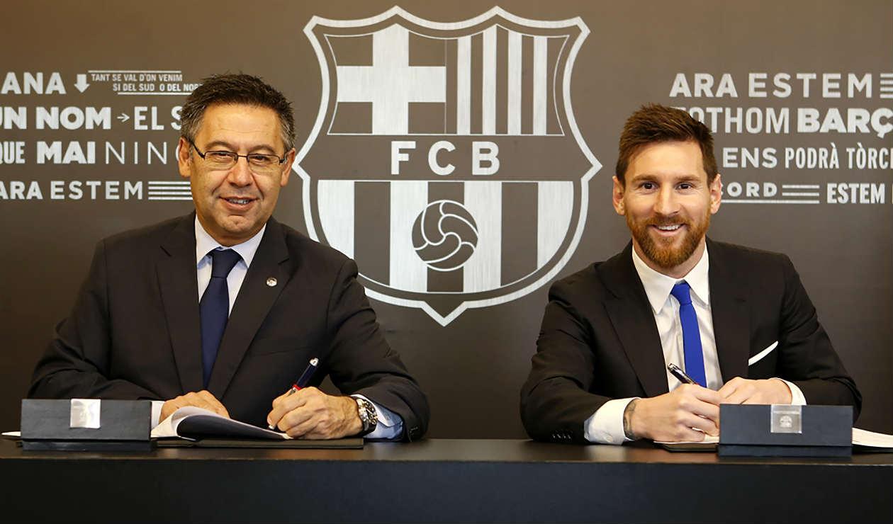 Messi - Bartomeu