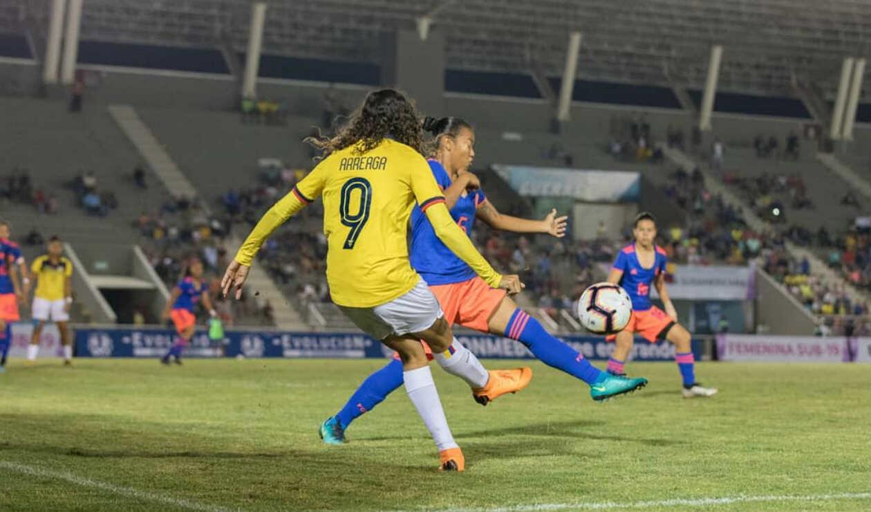 Colombia sub 19 - Ecuador