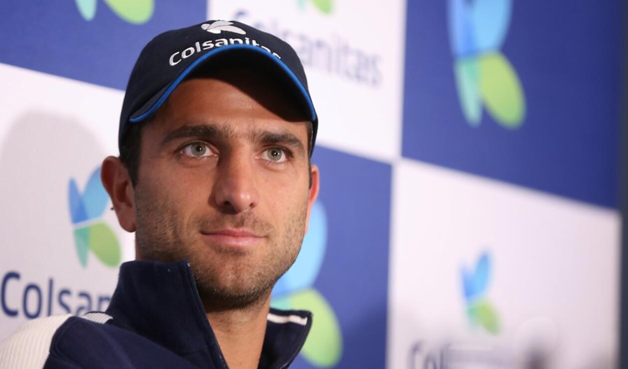 Robert Farah, tenista colombiano.
