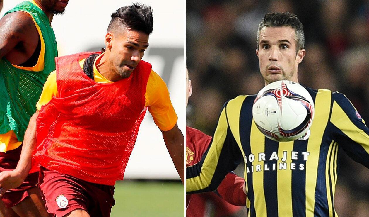 Falcao, Galatasaray, Fenerbache