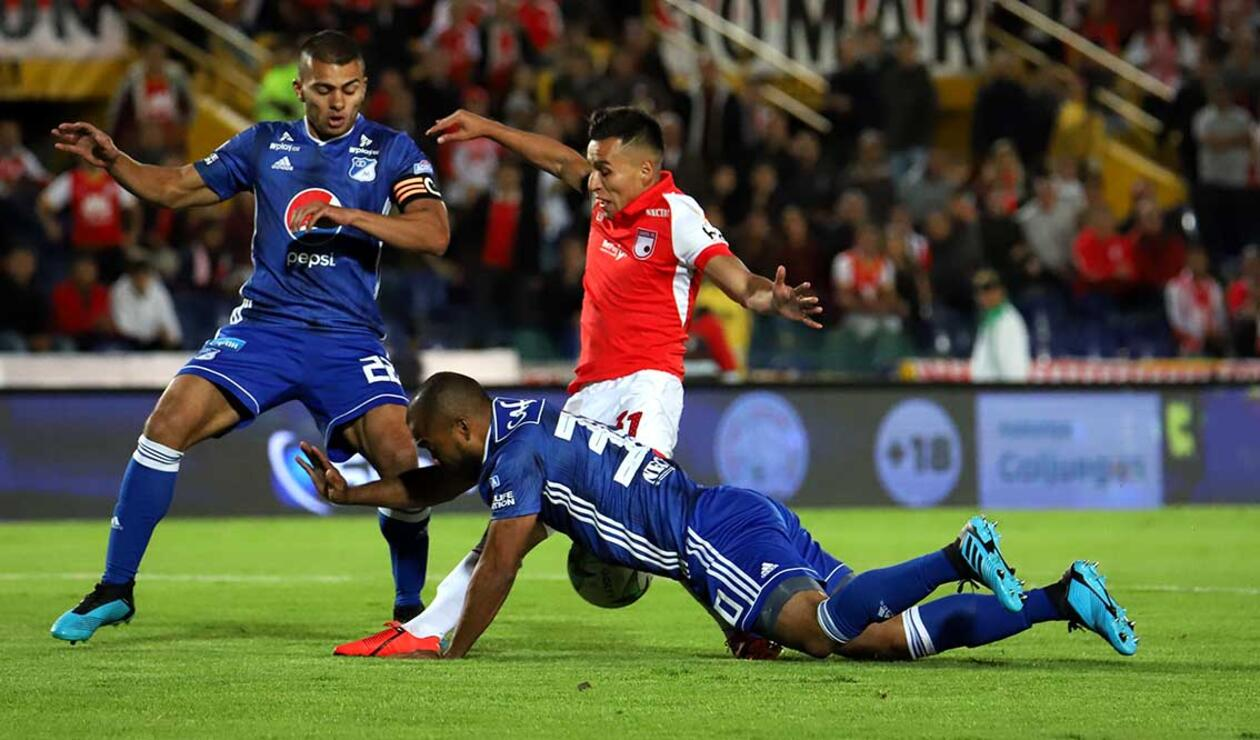 Millonarios vs Santa Fe - Liga Águila II