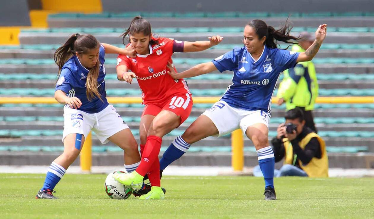 90 Minutos De Futbol En Vivo Por Internet américa de cali derrotó a millonarios en la liga femenina