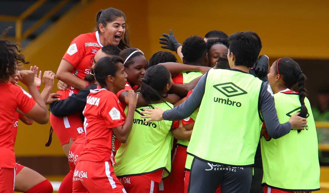 Millonarios vs América - Liga femenina