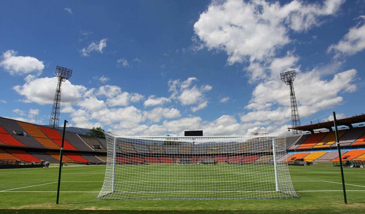 Estadio Atanasio Girardot de Medellín.