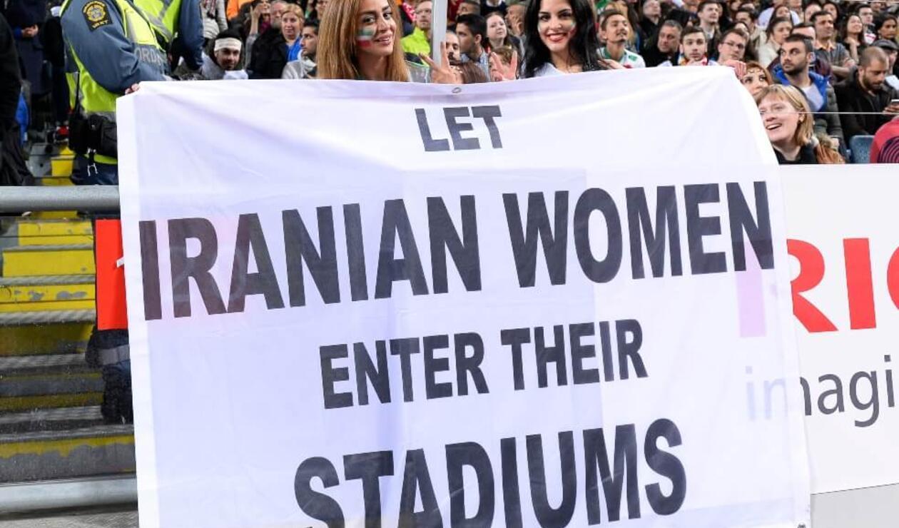 """FIFA exige a Irán que garantice """"la libertad y la seguridad des las mujeres"""""""