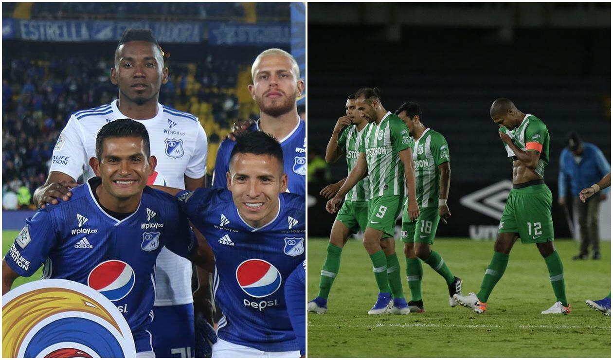 Equipo formado de Millonarios y jugadores de Nacional