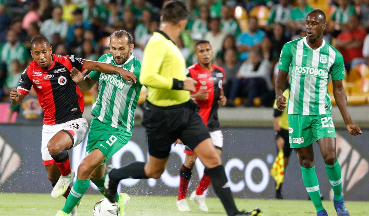 Atlético Nacional vs Cúcuta, Liga Águila, fecha 11
