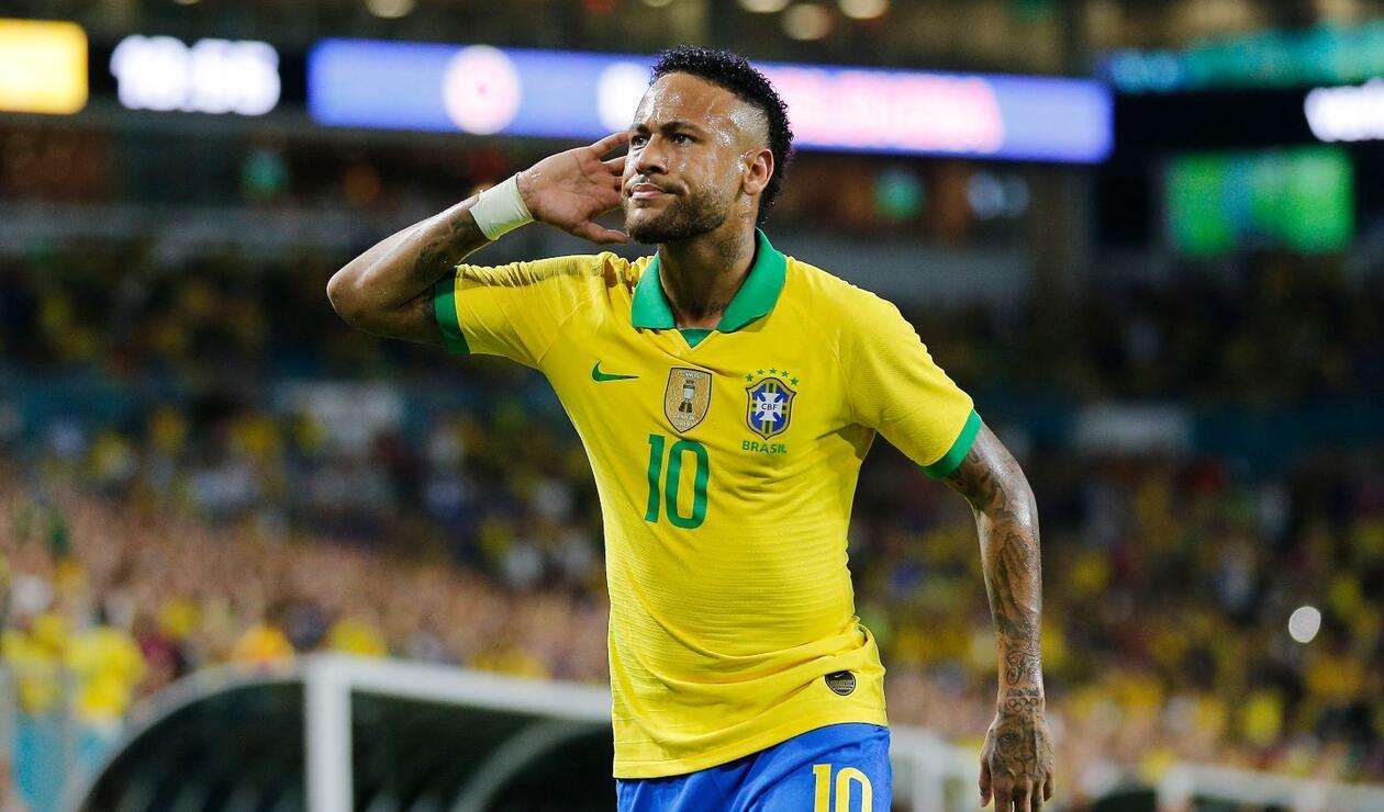 Neymar se 'deshago' ante Colombia