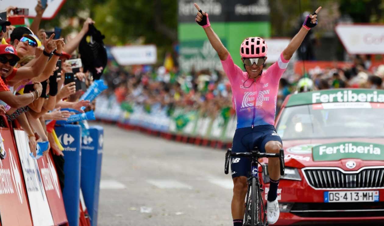 Sergio Higuita, ciclista colombiano del Education First