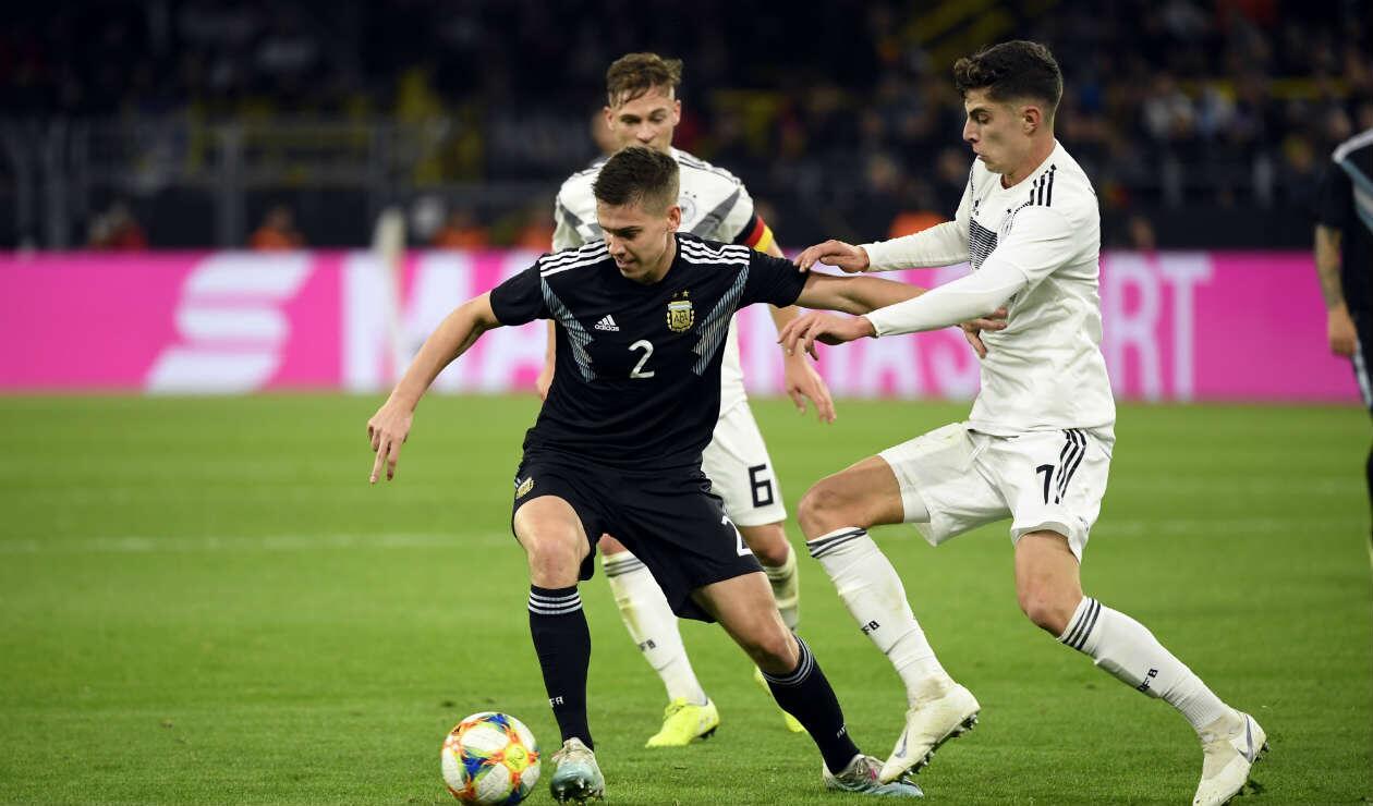 Argentina Vs. Alemania