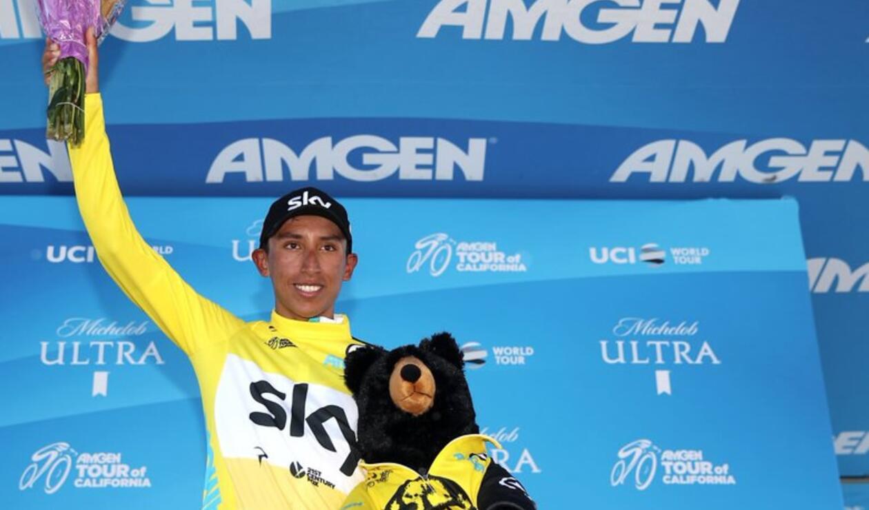 Egan Bernal, campeón del Tour de California 2018