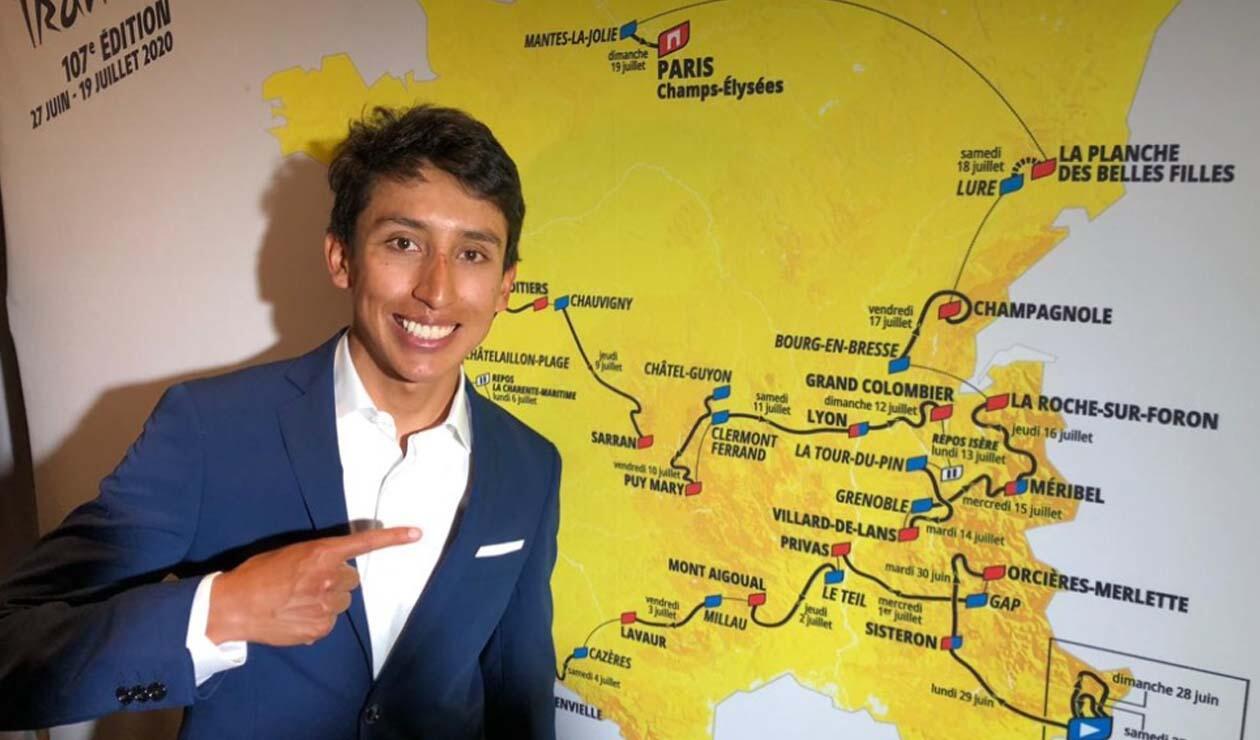 Egan Bernal, presentación Tour de Francia 2020