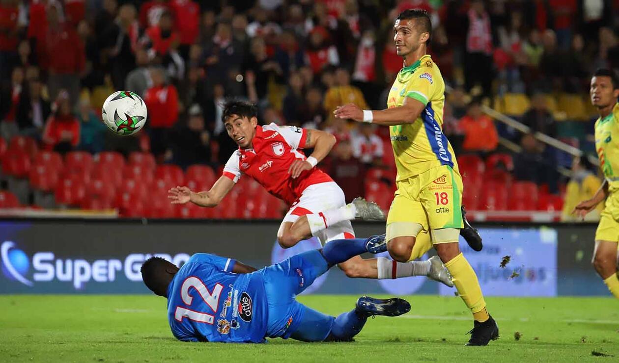 Santa Fe vs Huila - Liga Águila II 2019