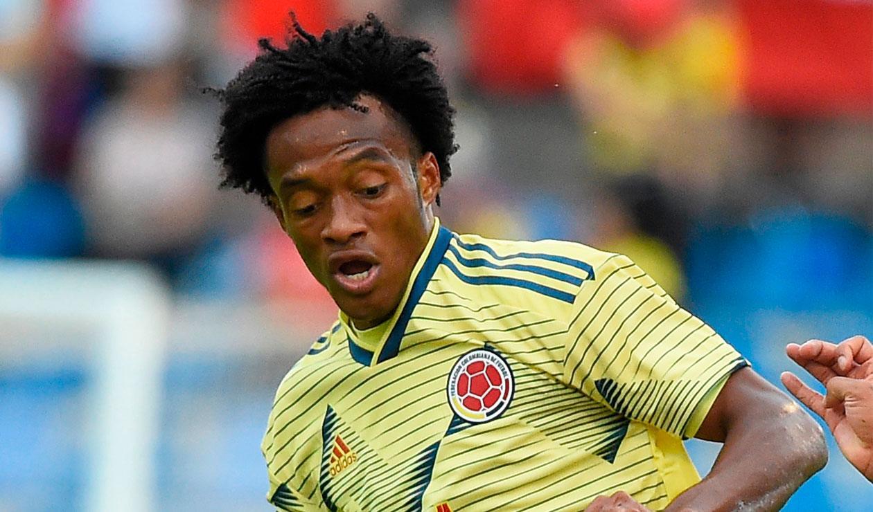 Juan Guillermo Cuadrado, Selección Colombia