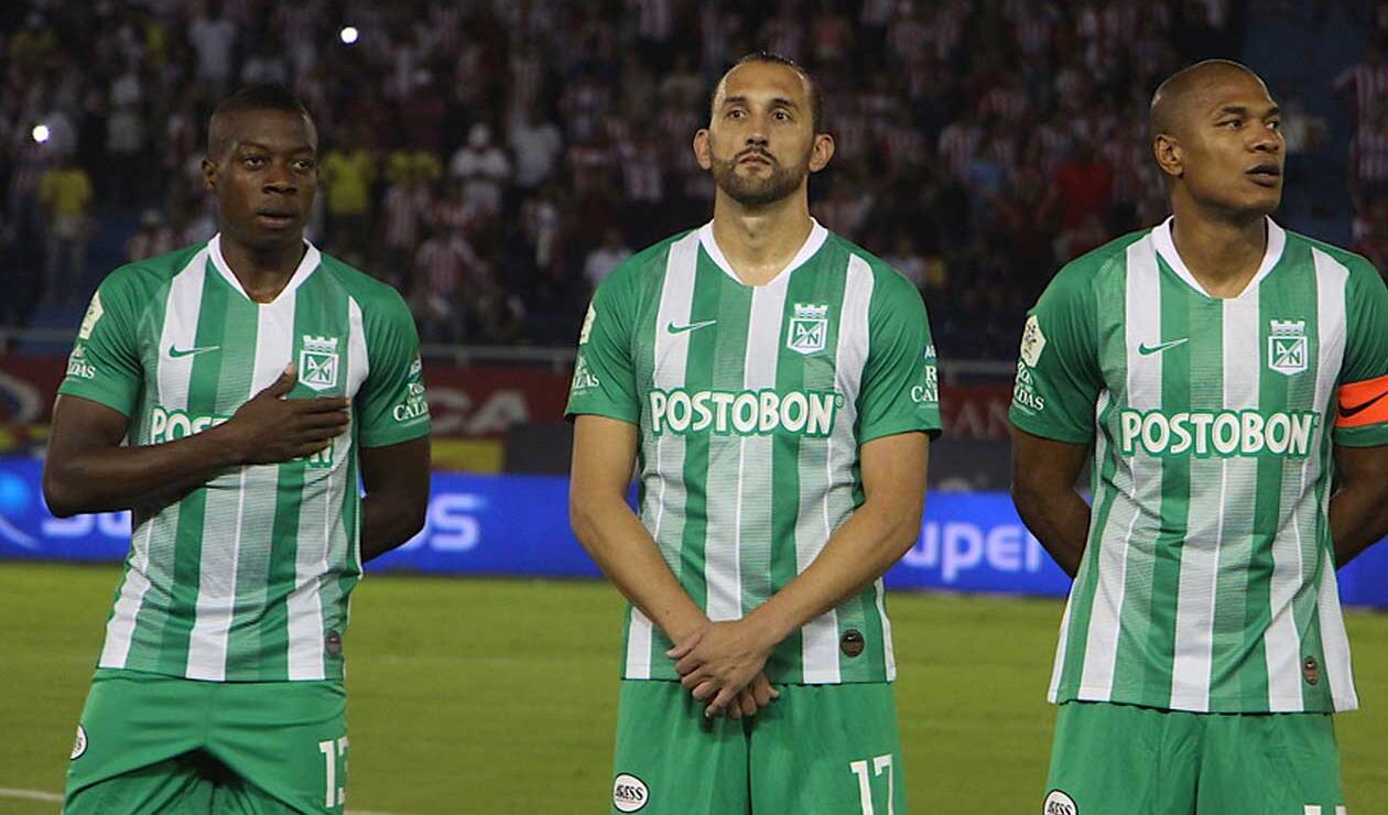 Atlético Nacional, líder del campeonato